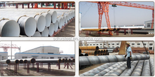 SSAW pipe spiral welded steel pipe API 5L standard ASTM standard