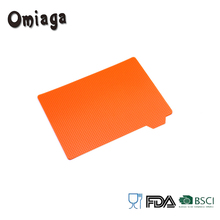 Cheap plastic flexible cutting chopping board