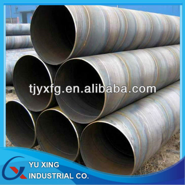 Prime qualty API 5L SSAW steel pipe / flange manufacturer in Tianjin, China