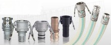 Quality aluminum industrial hose fittings and couplings of die casting parts made in Taiwan