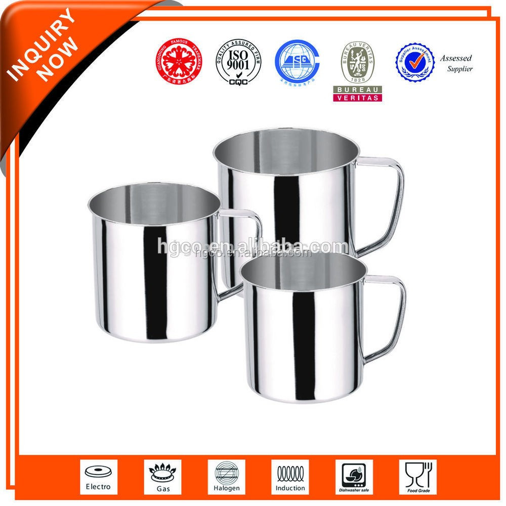 Customized Design stainless steel cups india