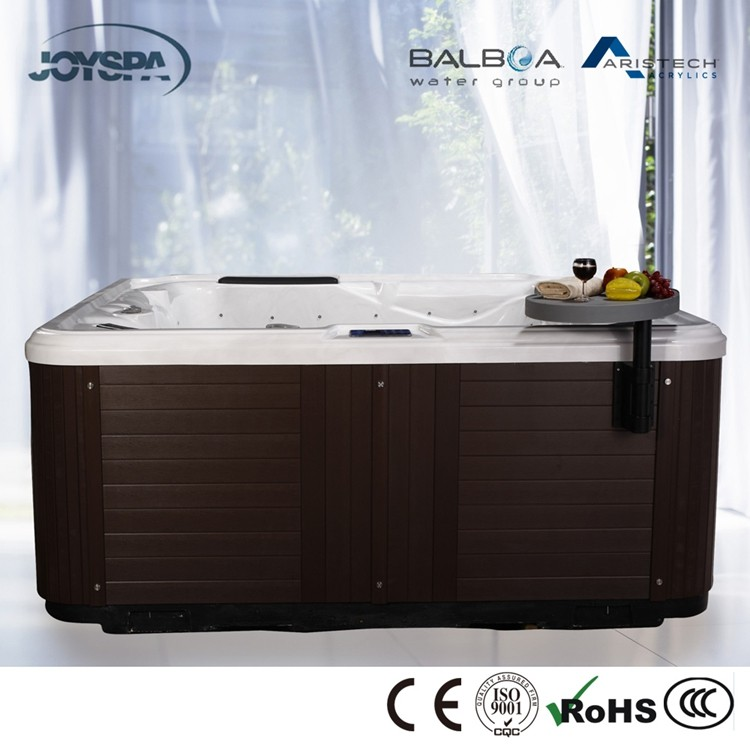 Best Selling 7 Person Cheap Massage Whirlpool Bathtubs with Spa Jet Nozzle JY8015