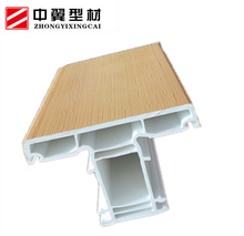 65 Series new product UPVC profiles for windows and doors PVC raw material