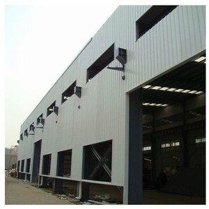 Large -span two story steel structure warehouse/workshop/hotel buildings