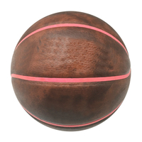 New arrival PVC imitated PU laminated size 3 basketball with colorful bladder