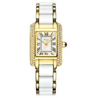 KIMIO 30M Water Resitant Stainless Steel Luxury Brand Woman Watches Best Quality Gold Watch