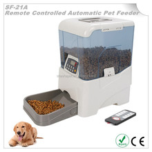 Infrared remote controller automatic pet feeder pet products wholesale and automatic pet food dispenser