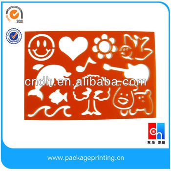 Resale shape stencils