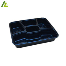 wholesale clear plastic heat preservation storage food container with lid