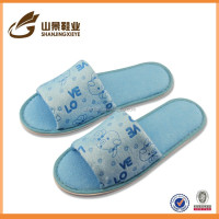 latest suit design products for lady fashion thicken cotton slippers