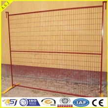 3.5mm Outdoor American construct Used Temporary chain link fence for safety with feet