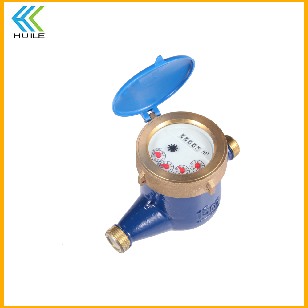 electronic reading remote read 2inch gprs ic card prepaid wifi consumption domestic security seal intelligent flange water meter