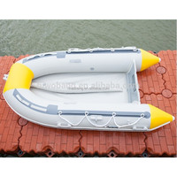 Inflatable boat new price Finshing inflatable rowing boat with ce