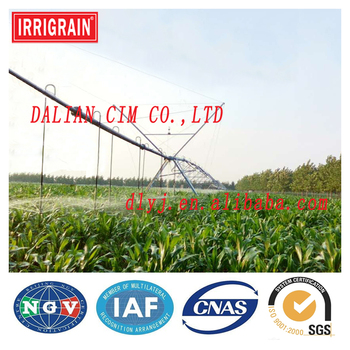 Center Pivot Irrigation System For Agriculture