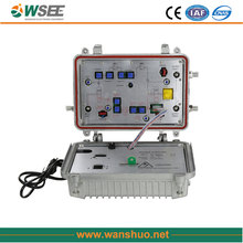 CATV outdoor bidirectional distribution amplifier