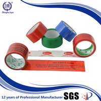 custom logo printed adhesive packing tape with company logo, logo printed packing tape