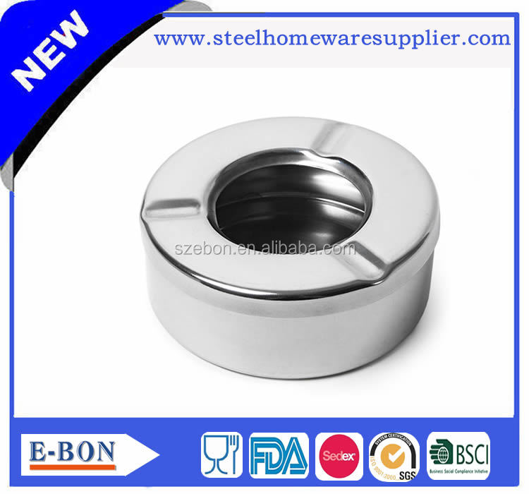 New design mini table stainless steel ashtray
