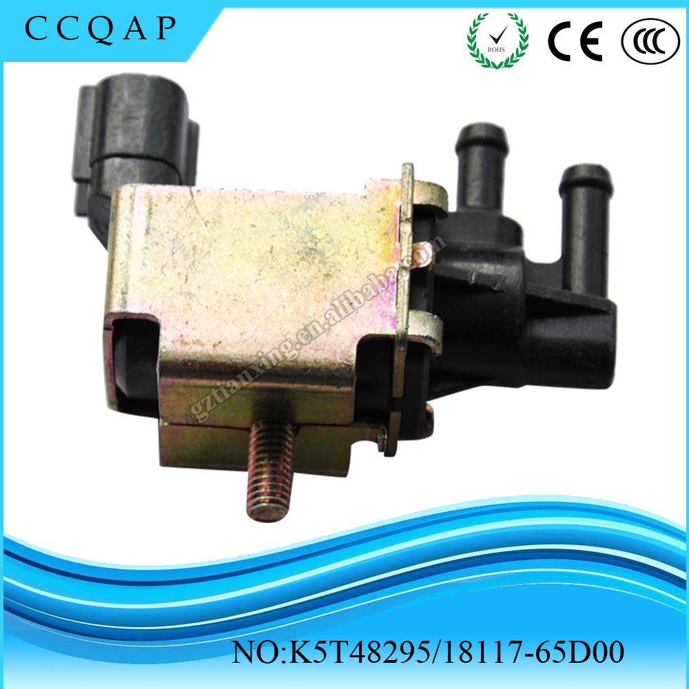 K5T48295 18117-65D00 Best brand auto electric parts wholesale cheap price vapor purge solenoid valve 12v