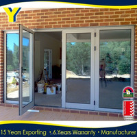 Hot sale French doors / used exterior french doors for sale / arched french doors interior