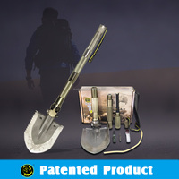 Multifunction Hoe/Folding Shovel Hammer Cutter