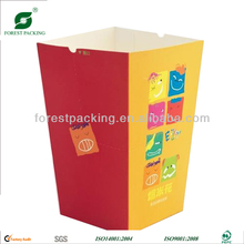 SMALL SIZE FOLD BOTTOM PAPER POPCORN BOX