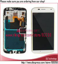 White LCD Display and Digitizer Touch Screen with Frame for Motorola for Moto X XT1058 XT1060 XT1056 XT1053
