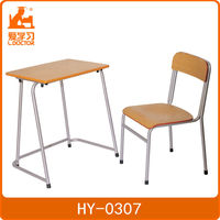 Junior school furniture old school desk for sale