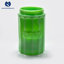 New Jade Color Glass Dog Food Storage Container