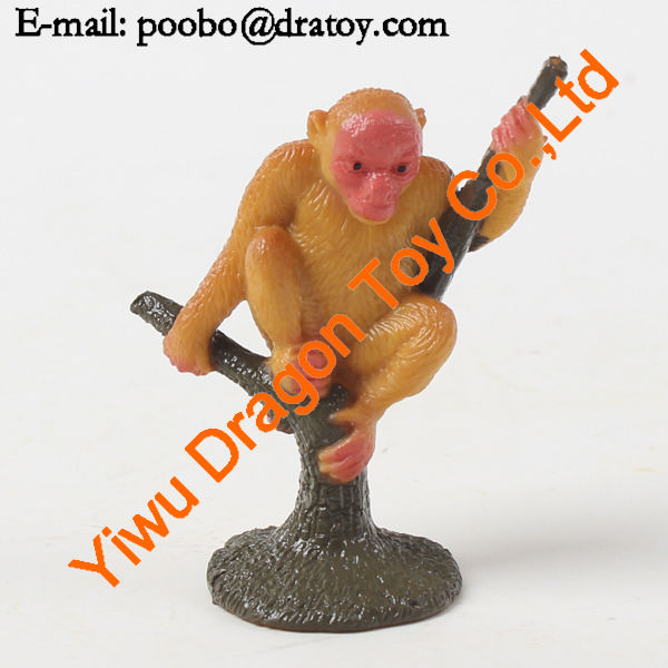 suplly small plastic monkey toy