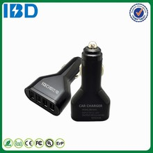 IBD New Appearance high quality 4 USB Port High Current 5v/9.6a Power Supply Car Charger For iPhone HTC Samsung etc.