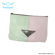 Wholesale cosmetic PU Customized size market small colors cosmetic bag makeup bag