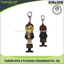 wholesale customize 3D logo soft pvc usb keychain