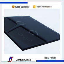 OEM / ODM high quality tempered touch wall switch crystal glass panel