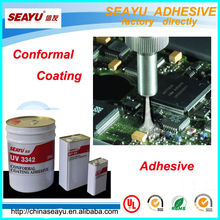 uv 3342 LV-free solvent uv fluorescent conformal coating adhesive