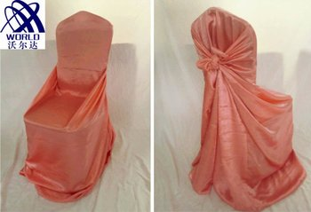 Pink Queen Self-tie Chair Cover WF2-24