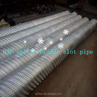 high strength bridge type screen high impact water pipe factory
