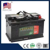 58043 DIN style Maintenance Free car jump starter battery