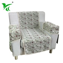 Floral Series Full Headrest Cover for Sofa