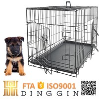 Pet wire mesh dog cage indoor or outdoor