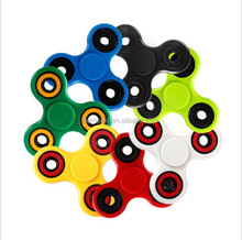 plastic fidget spinner toy with 608 bearing