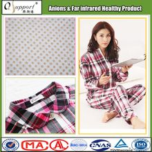 breathable knitted cotton blend fabric teen girls sexy sleepwear