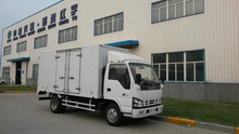 cheaper 3.5 tons van cargo truck/mini box van truck/small box trucks for Africa