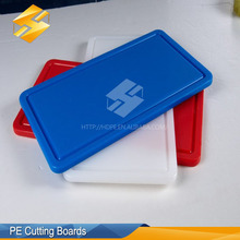 Antibacterial Non Slip Kitchen Plastic Cutting Board Chopping Board With CE Certification