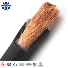 600V red black 2/0awg flexible copper rubber sheathed solar battery cable
