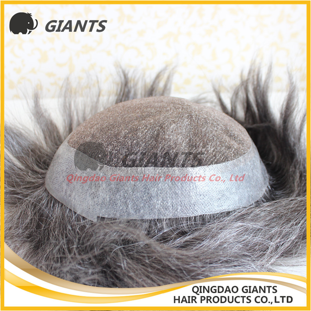 swiss lace toupee strong base toupee for man shunfa hair