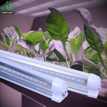 EXW price 9W 12W 14W 18W Full Spectrum T5 T8 Tube LED Grow Light for Medical Plants Veg Indoor Plant