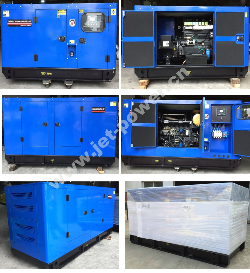 725kva 580kw Standby 50Hz 3 Phase Water Cooled diesel generator set