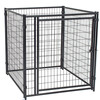 Large outdoor folding fashionable high quality new design galvanized beautiful dog cages/kennels/pet houses