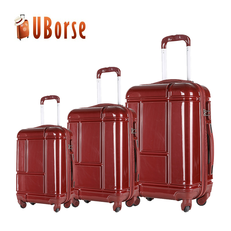 Best Selling ABS + PC Trolley Suitcase Luggage Bags Cases