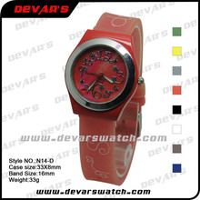 Custom your own brand new design fashion teens watch, teen girl watches 2014